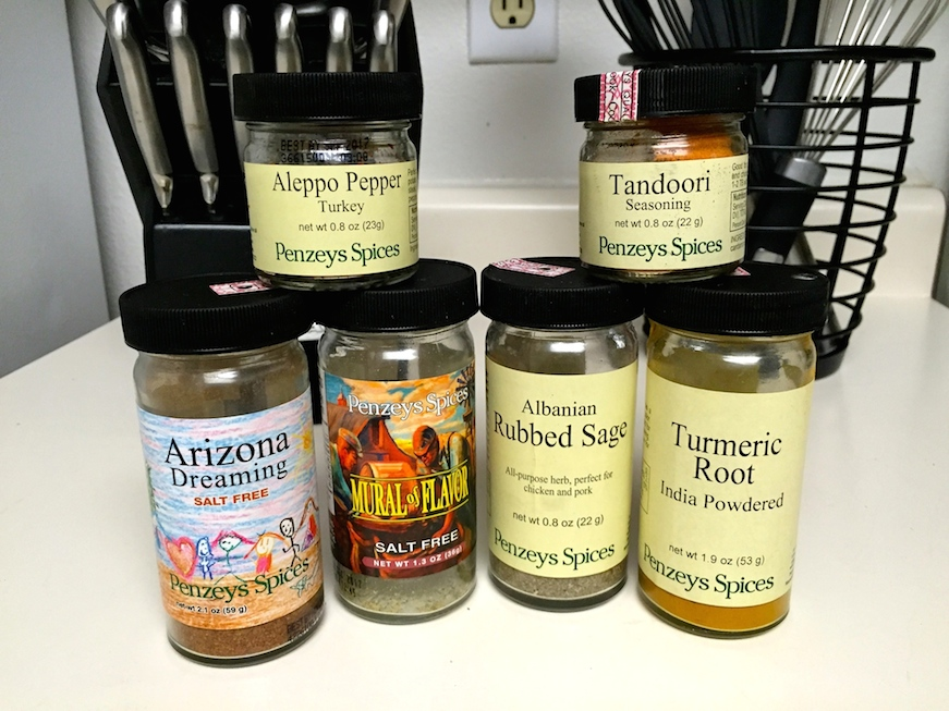 Our favorites that are not commonly found in one's spice rack.