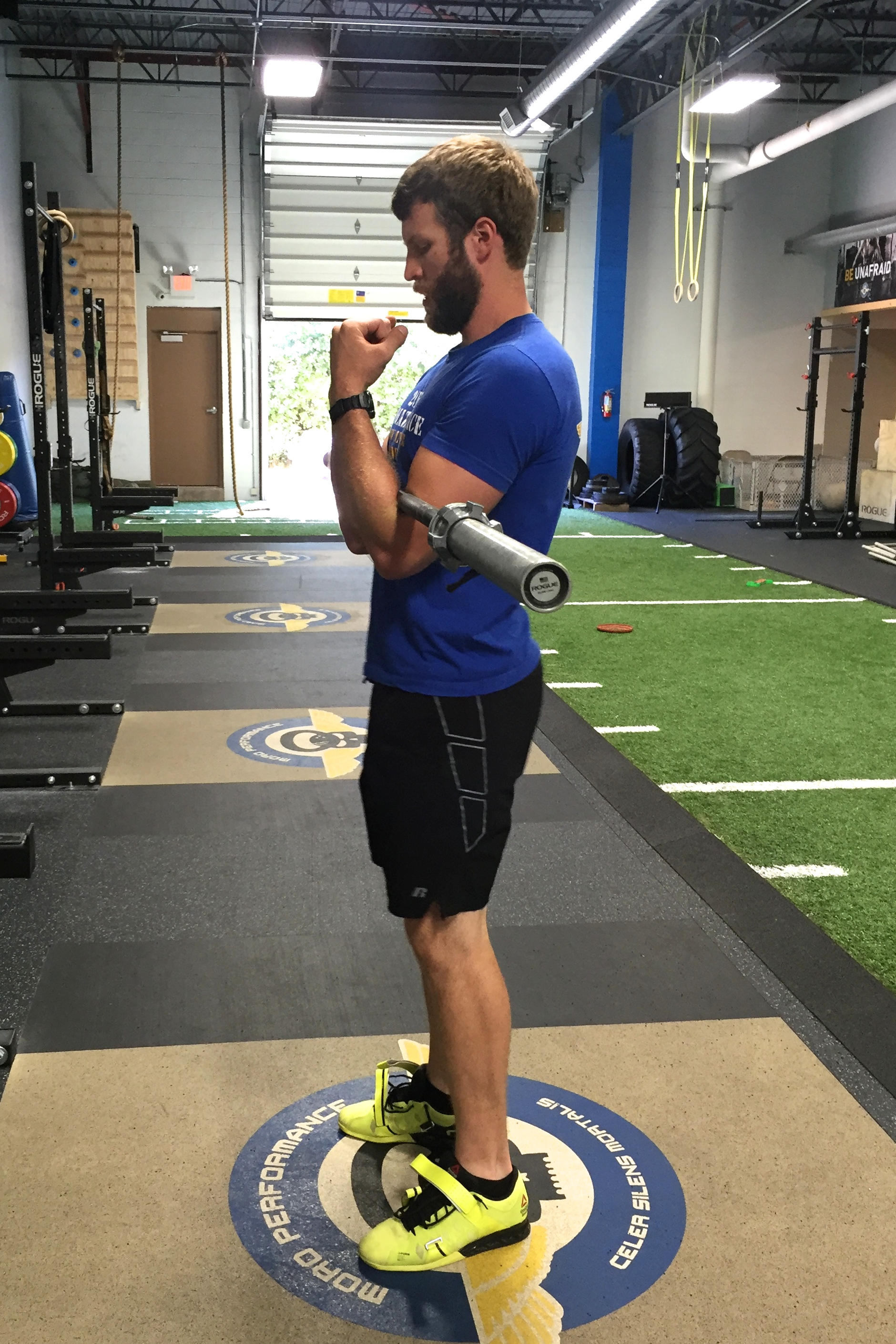 Moro Performance Mequon Crossfit Mortalis Try This Zercher Squats